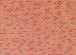 H0 Mauerplatte, Backstein