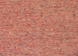 H0 Mauerplatte, Klinker