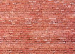 H0 Mauerplatte, Sandstein, rot