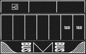 Noch 60718 H0-Parkplatz Asphalt