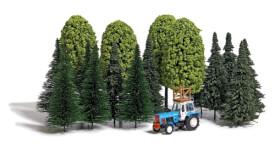H0 Baum-Set und Traktor