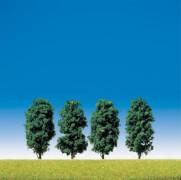 H0, TT, N 4 Laubbäume