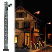 H0 Gittermast-Lampe