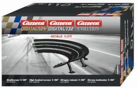Carrera EVOLUTION - 6erPack Steilkurven 1/30°, 1:24, ab 8 Jahre