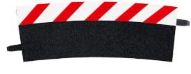 CARRERA DIGITAL 124 - Außenrandstreifen für Kurve 4/15° (12), Endstücke (2)
