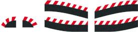 CARRERA DIGITAL 124 - Randstreifen für digitale Engstelle (6)