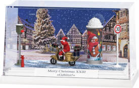Diorama: Merry Christmas XIII