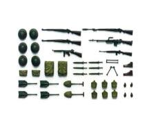 1:35 Diorama-Set WWII US Infant. Waffen