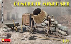 MiniArt Concrete Mixer Set