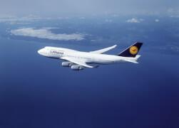 REVELL 06641 Modellbausatz Boeing 747-400 Lufthansa easykit 1:288