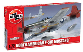 Glow2B Airfix North American P-51D Mustang