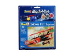 Revell Model Set Fokker DR.1 Triplane