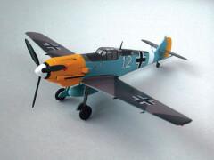 Fertigmodelle: BF109E-7/TROP 7/JG2