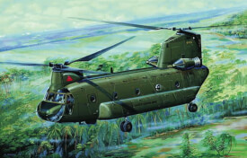 1/72 CH47A Chinook Medium-lift Helicopter