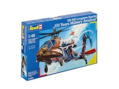 REVELL 04896 ModellbausatzAH-64D Longbow Apache 100 Years Military Aviation 1:48