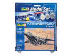 Revell Model Set F-15E STRIKE EAGLE & b