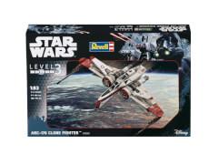 Revell 03608 Modellbausatz Star Wars ARC-170 Fighter 1:83, ab 10 Jahre