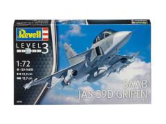 REVELL Saab JAS-39D Gripen TwinSeate