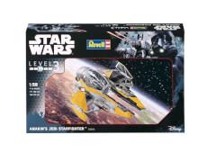 REVELL 03606 Modell Star Wars Anakins Jedi Starfighter 1:58, ab 10 Jahre