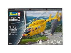 REVELL 04953 Modellbausatz BK-117 ADAC 1:72, ab 10 Jahre