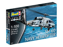 Revell 04955 Modellbausatz SH-60 Sea Hawk 1:100, ab 10 Jahre