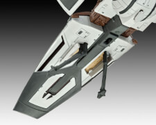 REVELL 03612 Star Wars Modellbausatz Sith Infiltrator 1:257, ab 10 Jahre