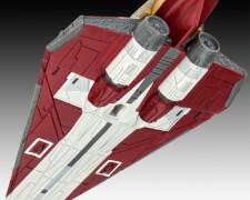 REVELL 03614 Star Wars Modellbausatz Obi-Wan Kenobis Jedi Sternenjäger Delta-7 1:80, ab 10 Jahre