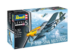 REVELL 03944 Modellbausatz P-51D Mustang 1:32, ab 12 Jahre
