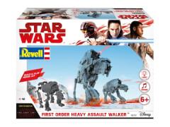 REVELL 06761 Star Wars Modellbausatz Build & Play AT-M6 Kampfläufer 1:164, ab 6 Jahre