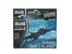 REVELL 63933 Modellnachbildung Dornier Do17Z-10 mit Basisfarben 1:72, ab 12 Jahre