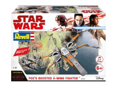 REVELL 06763 Modellbausatz Star Wars Build & Play Poes X-Wing Fighter 1:78, ab 6 Jahre