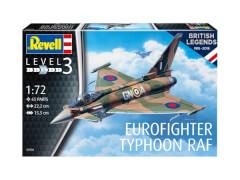 REVELL 03900 Modellbausatz 100 Years RAF: Eurofighter Typhoon 1:72, ab 10 Jahre