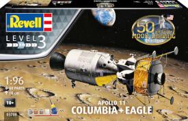 Revell Apollo 11 Columbia & Eagle