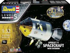 Revell Apollo 11 Spacecraft with Interi