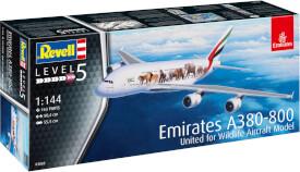 REVELL Airbus A380-800 Emirates Wild L 1:144