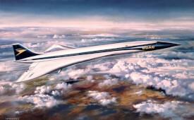 Glow2B Airfix Concorde Prototype (BOAC)
