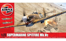 Glow2B Airfix Supermarine Spitfire Mk.Vc