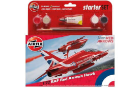 Glow2B Airfix Medium Starter Set - RAF Red Arrows Hawk