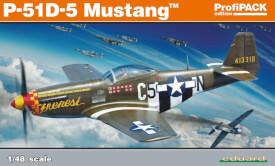 Eduard Plastic Kits P-51D-5 Mustang, Profipack