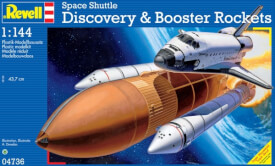 Revell Space Shuttle Discovery &Booster