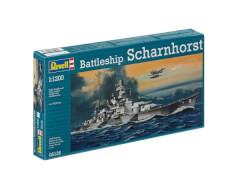 REVELL 05136 Modellbausatz Battleship Scharnhorst 1:1200, ab 10 Jahre
