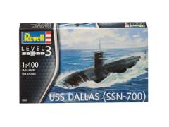 REVELL US Navy Submarine USS Dallas