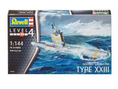 REVELL 05140 German Submarine Type XXIII 1:144, ab 12 Jahre