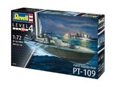 Revell 05147 Modellbausatz Patrol Torpedo Boat PT109 1:72, ab 12 Jahre