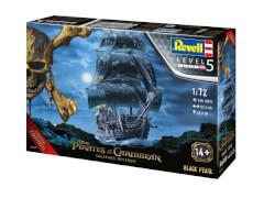 Revell 05699 Modellbausatz Black Pearl Fluch der Karibik 1:72, ab 14 Jahre