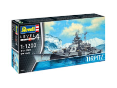 REVELL 05822 Modellbausatz Tirpitz 1:1200, ab 12 Jahre
