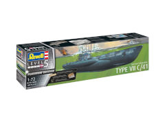 REVELL German Submarine Type VII C/41 1:72