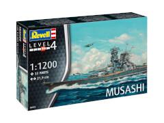 REVELL Musashi 1:1200