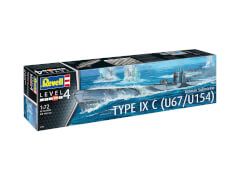 Revell German Submarine Type IX C U67/U