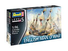 Revell English Man O'War